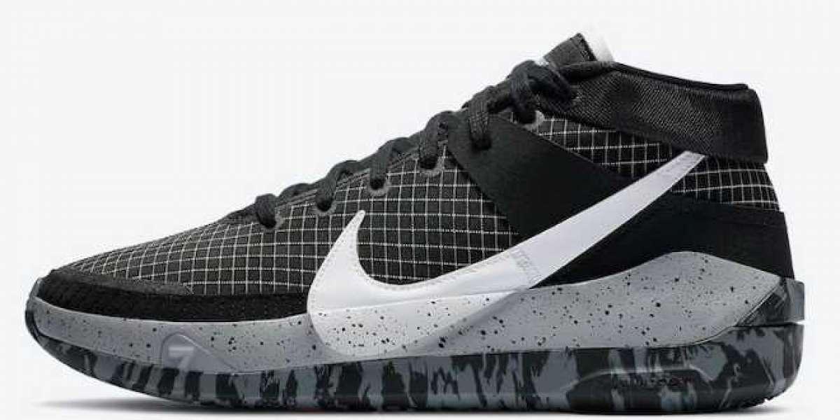 "Nike KD 13 ""Oreo"" Black/White-Wolf Grey CI9949-004"